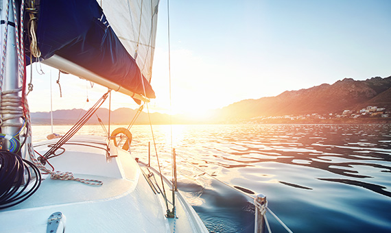 luxury boat for wealth management